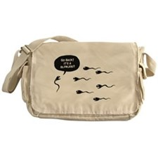 Go Back! Messenger Bag