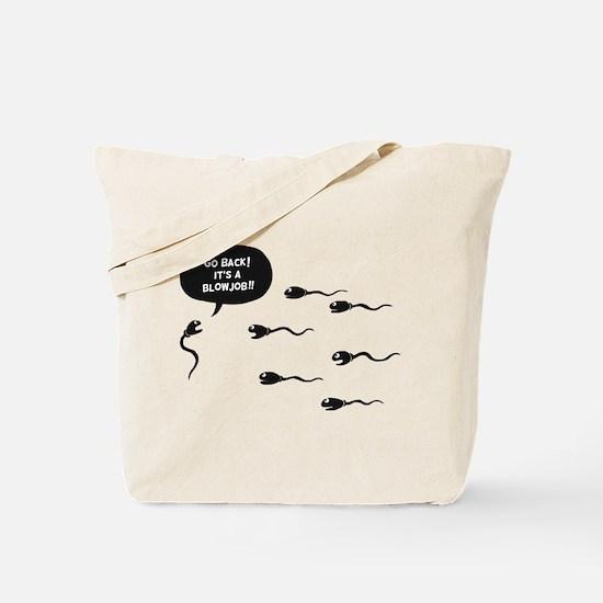 Go Back! Tote Bag