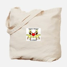 Gettin Hitched to a chick Tote Bag