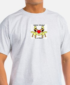 Gettin Hitched to a chick T-Shirt