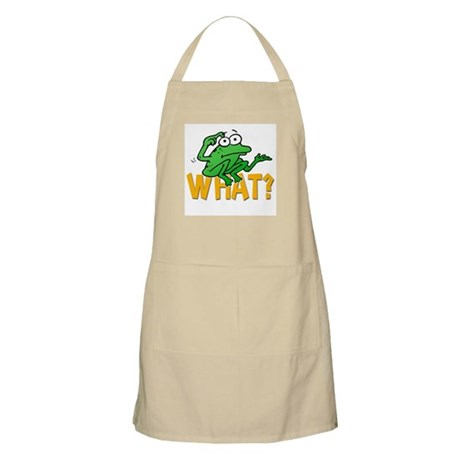 Frog What? BBQ Apron