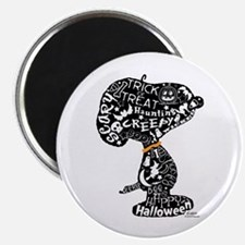 Halloween Snoopy Collage Magnet