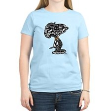 Halloween Snoopy Collage T-Shirt