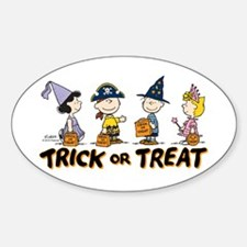 The Peanuts Gang: Trick or Treat Decal