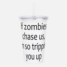 Cute Ghost hunters Acrylic Double-wall Tumbler