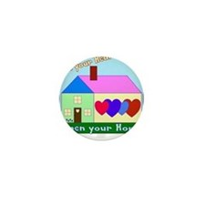Funny Foster parents Mini Button