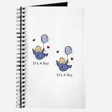 It's a Boy Twin Baby Boy Announcement Design Journ