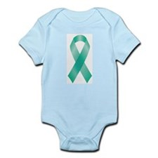 Teal Awareness Ribbon Body Suit