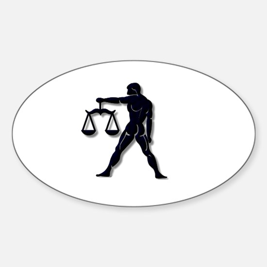 Libra Zodiac Symbol Decal