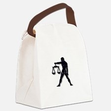 Cute Symbol Canvas Lunch Bag