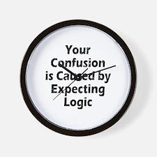 Unique Reason logic Wall Clock