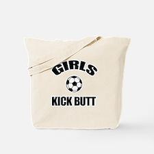 GIRLS KICK BUTT - WOMENS SOCC Tote Bag
