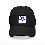 The Blue Masonic Star Black Cap