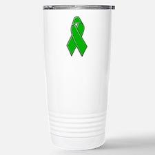 Cute Cancer ribbon Travel Mug