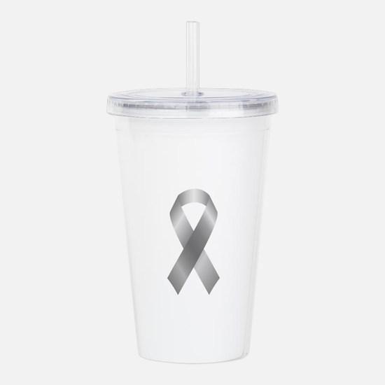 Cool Ovarian cancer awareness Acrylic Double-wall Tumbler