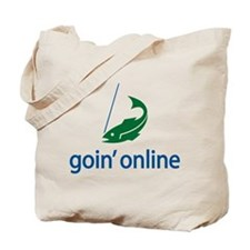 goin' online Tote Bag