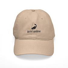 goin' online Baseball Cap