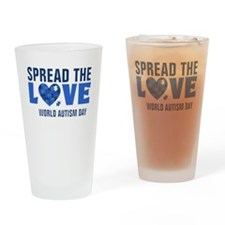 Spread the Love Drinking Glass