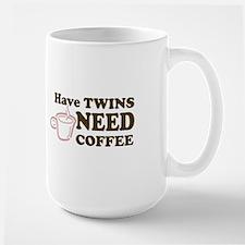 Have Twins-Need Coffee (Pink) - Mug