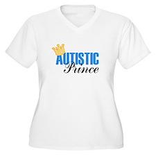 Autistic Prince Plus Size T-Shirt