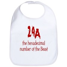 Number of the Beast Bib