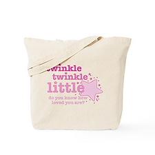 Twinkle Twinkle Pink Tote Bag