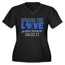 World Autism Day 2015 Plus Size T-Shirt
