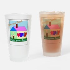 Unique Foster care Drinking Glass