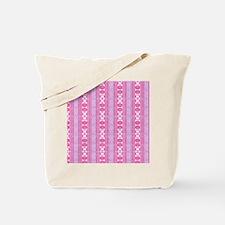 friendly mixed borders, pink CP Tote Bag
