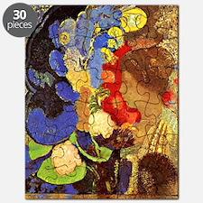 Odilon Redon - Woman Among Flowers Puzzle