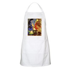 Odilon Redon - Woman Among Flowers Apron