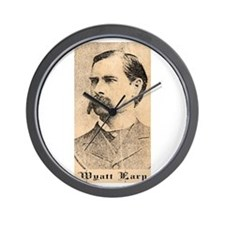 Wyatt Earp Wall Clock