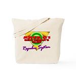 Club Area 51 Regulus System Tote Bag