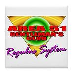 Club Area 51 Regulus System Tile Coaster