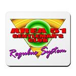 Club Area 51 Regulus System Mousepad