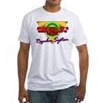 Club Area 51 Regulus System Fitted T-Shirt