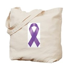 Cute Domestic violence awareness ribbon Tote Bag