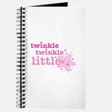 Twinkle Star Pink Journal