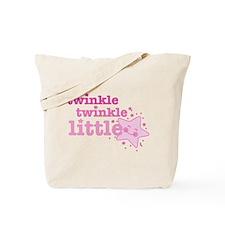 Twinkle Star Pink Tote Bag