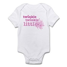 Twinkle Star Pink Infant Bodysuit