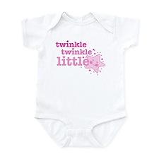 Twinkle Star Pink Onesie