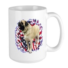 Mastiff(fawn) Patriot Mug