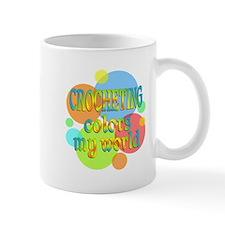 Crocheting Colors My World Small Mug