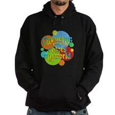 Crocheting Colors My World Hoodie