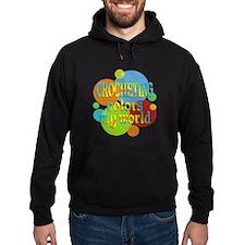 Crocheting Colors My World Hoody
