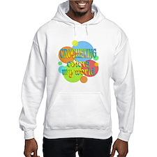Crocheting Colors My World Jumper Hoody
