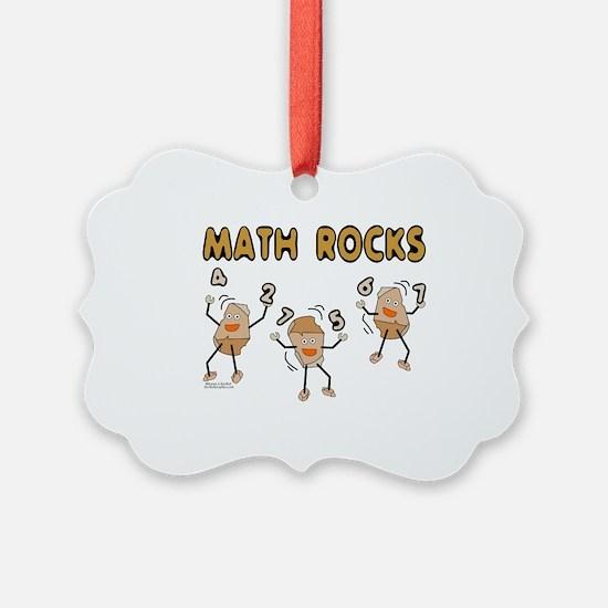 Math Rocks Ornament