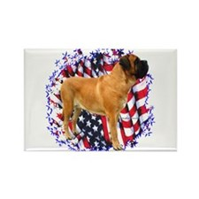 Mastiff(apr) Patriot Rectangle Magnet