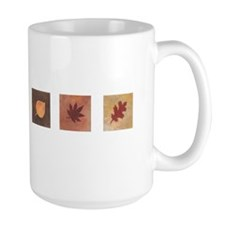 leavestryptich Mugs