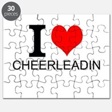 I Love Cheerleading Puzzle